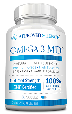 Omega-3 MD ingredients bottle