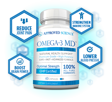 Omega-3 MD Bottle Plus