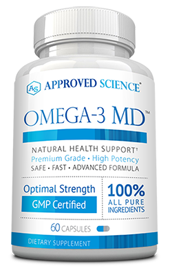 Omega-3 MD Risk Free Bottle